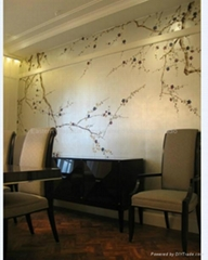 Eastern Classical Hand-painted Wallpaper Studio