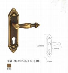 Antique copper Lock