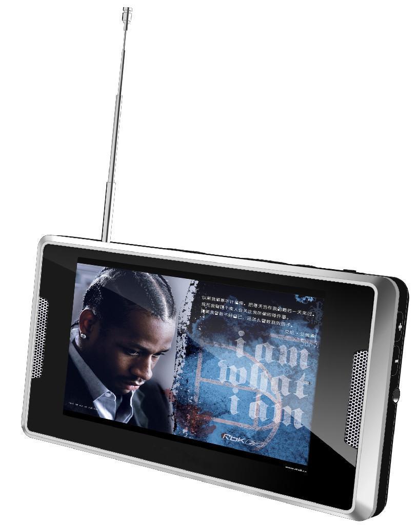 4.3寸屏带DVB-T的MP4播放器 1