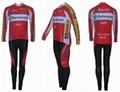 long sleeve cycling wear
