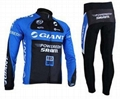 long sleeve cycling wear