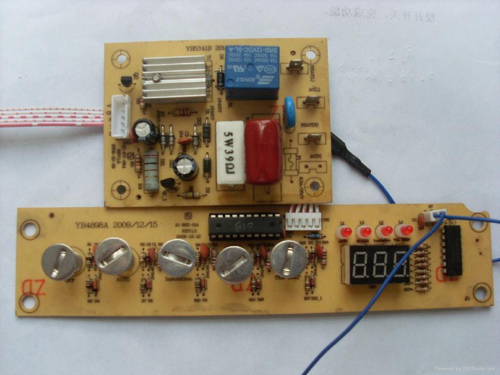 生产电热水壶控制板,带加水