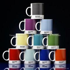 fine porcelain decal color mugs (CM-230)