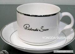 coffee mug and saurcer