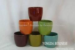 ceramic garden flower planter