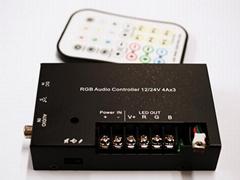 3 Channels audio synchronized RGB Controller