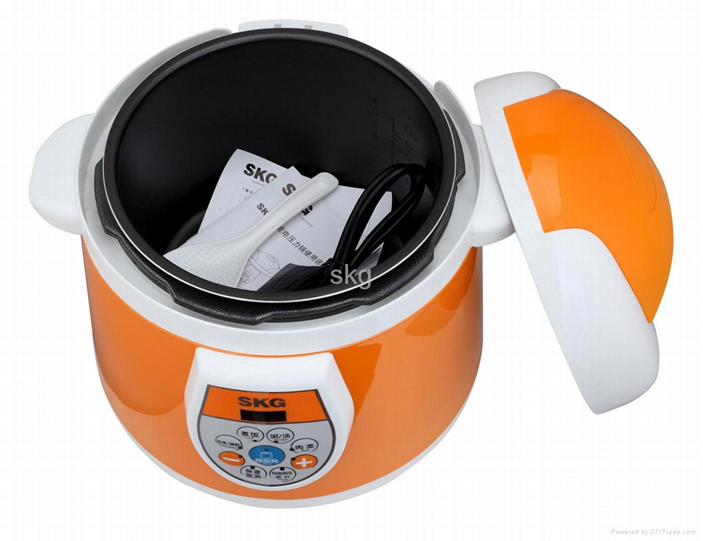 Electric pressure cooker 5