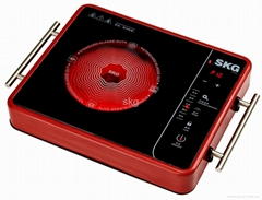 Electric ceramic cooker