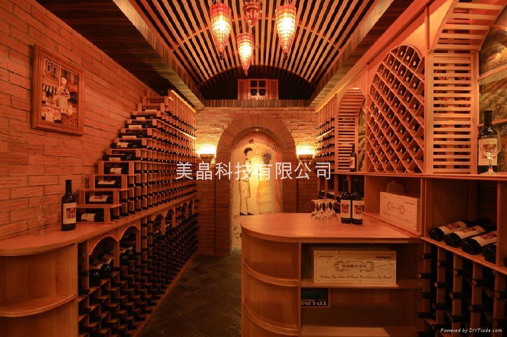 美晶实木酒窖 1