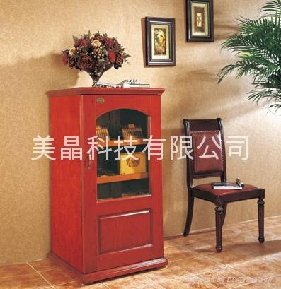 美晶时尚实木恒温恒湿雪茄柜 C280A 1
