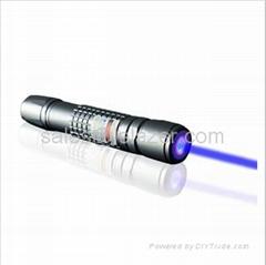 445nm Blue Laser Pointer 1W(Waterproof&Focus&Burning)