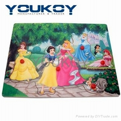 princess wooden puzzle