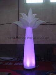 2012 LED light event decor inflatable tree