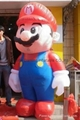 2012 promotional mascot inflatable Mario 2