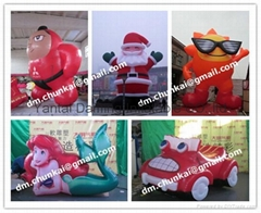2012 promotional mascot inflatable cartoon