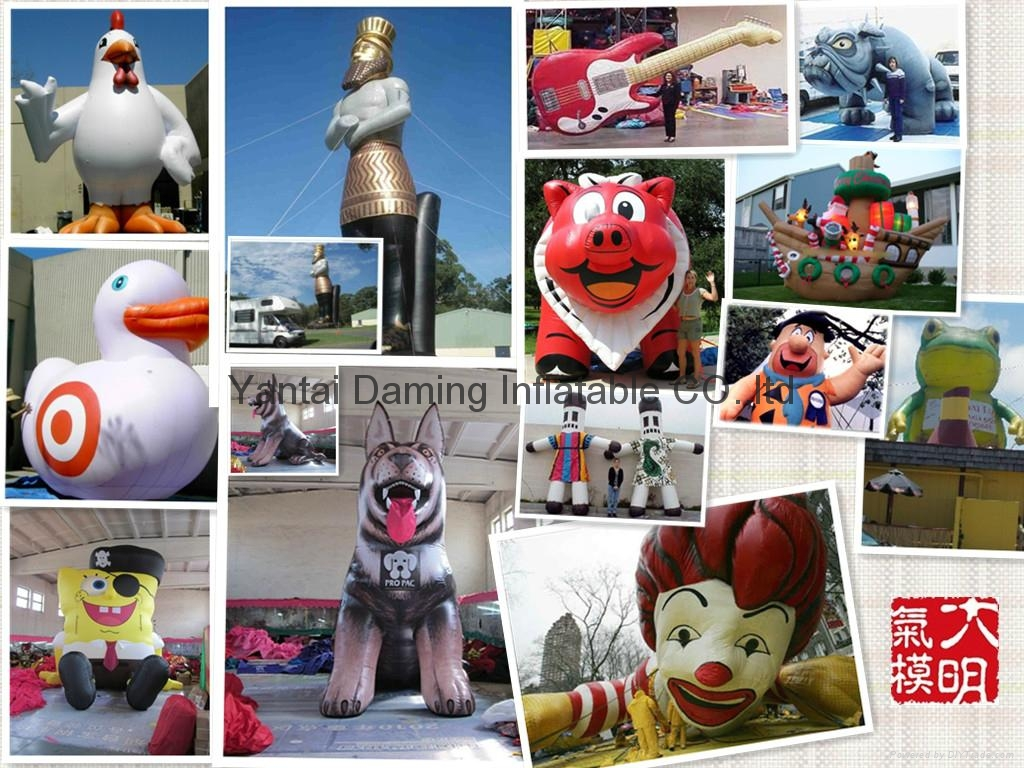 2012 promotional mascot inflatable cartoon 2