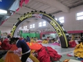 2012 advertising inflatable arch