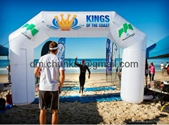 2012 promotional inflatable arch