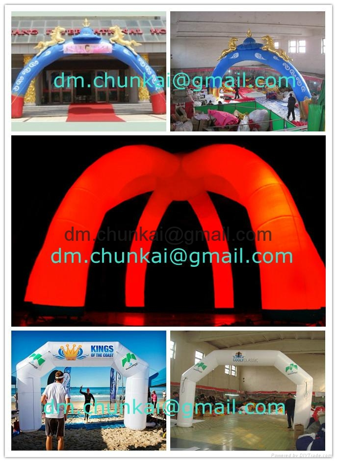2012 promotional inflatable arch 2