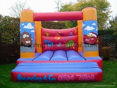 2012 cartoon inflatable bounce