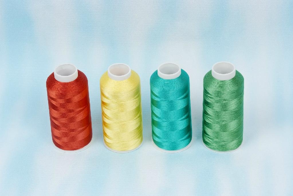120D/2 rayon embroidery thread 1