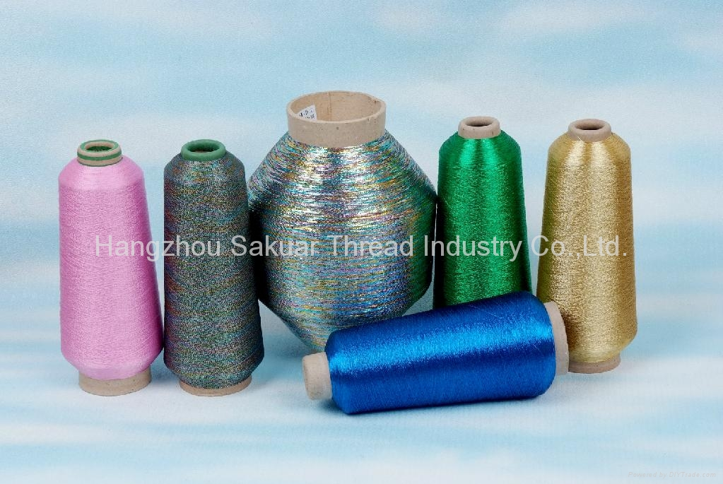 Sakura metallic yarn  1