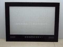 亚克力液晶电视防水面板