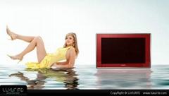 彩色边框防水电视