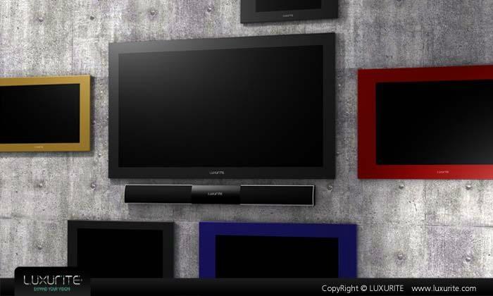 彩色边框防水电视 2