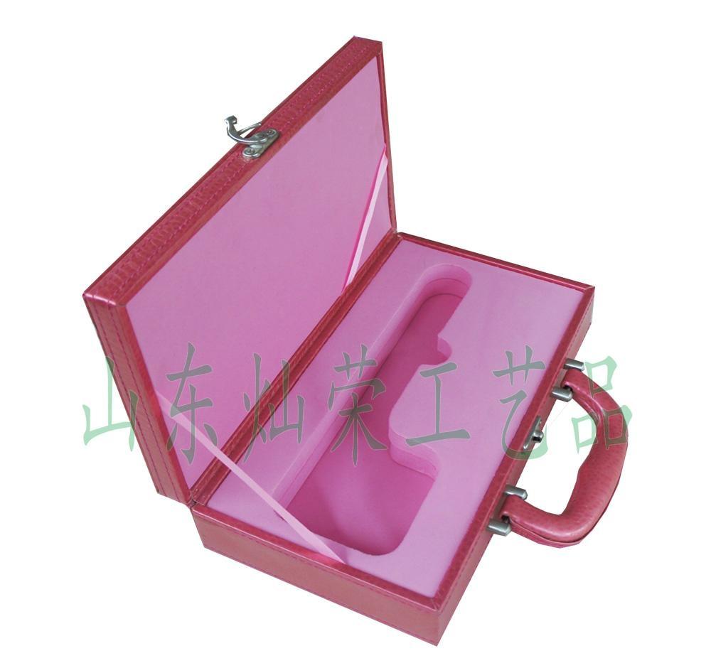 供应灿荣皮质化妆品包装盒 2