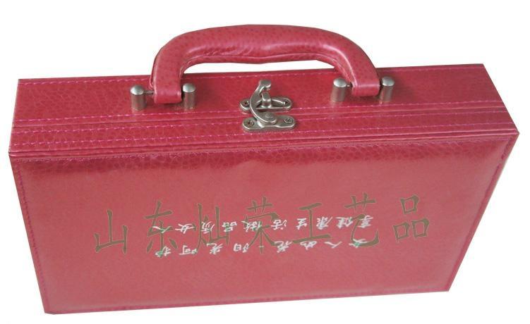供应灿荣皮质化妆品包装盒 3