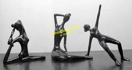 订制加工大型不锈钢主题雕塑 2