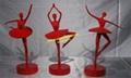 订制加工大型不锈钢主题雕塑 4