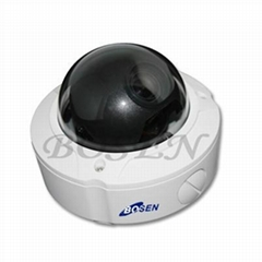 EDR Vandalproof dome camera with digital zoom