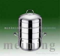 厂家长期供应不锈钢节能蒸锅