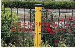 防盜柱護欄網