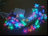LED Christmas Light(Snowflake LED String Rope Light Net Light Tr