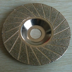 concave  Electroplated  diamond grinidng disc
