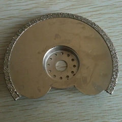 Concave diamond grinding disc