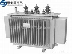 低損耗全密封三相油浸式電力變壓器