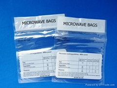 Microwave oven bags