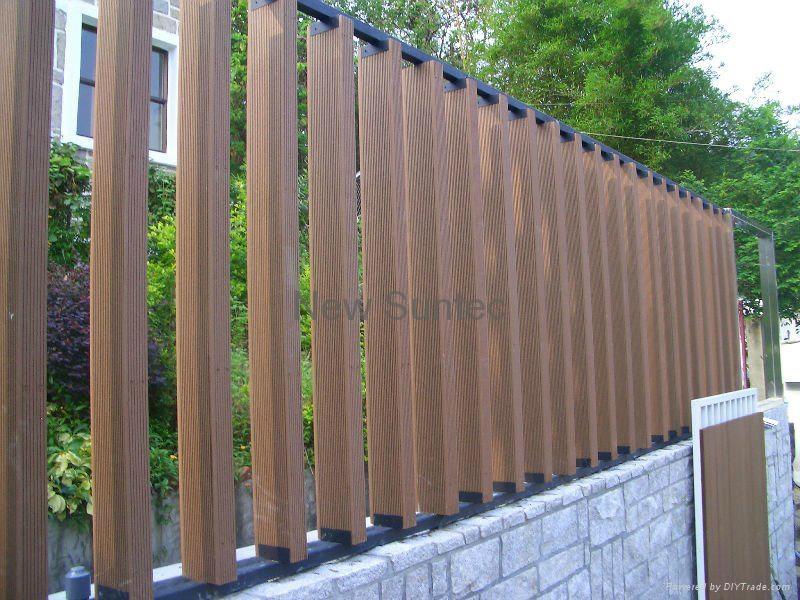 产品信息 建筑,装饰 装饰材料 其它装饰材料  塑木隔断板