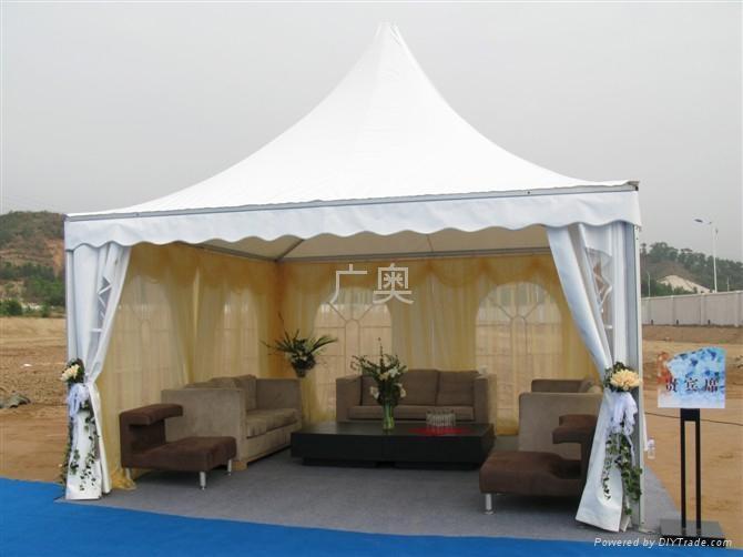 4m*2.5m欧式篷房图片