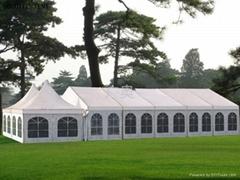 5m×5m小型歐式錐頂篷房