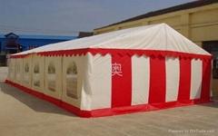 9m跨度小型材坡頂帳篷