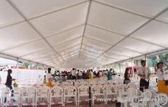 10m跨度大型坡頂帳篷