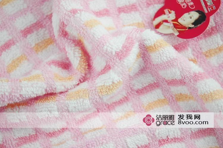 洁丽雅纯棉方巾 3