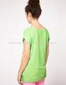 超透气女人短袖印刷tshirt 2