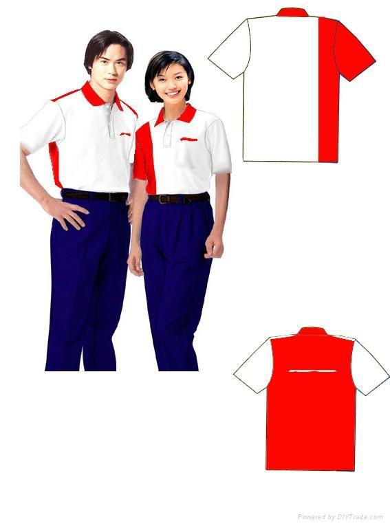 OEM工作服T恤 1