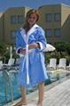 Luxury Velour Bathrobes for Women